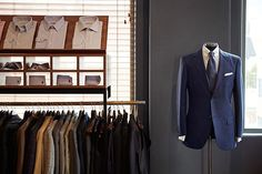 J. H. Cutler consistently dedicated to the highest level of bespoke craftsmanship that upholds and promotes artisanal techniques and values. The tailors can perfectly trim and create a perfect mixture of various elements of style for their customers. Custom Tailored Shirts, Custom Made Suits, Custom Made Clothing, Tailored Suits, Dubai Shopping, Bespoke Tailoring, Elements Of Style, Shirt Maker, Mens Fashion Suits