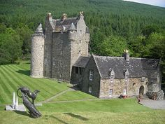 Dunderave Castle on Loch Fyne. visit and see the old site of my ancestors clan Scotland Castles, Scottish Castles, Monuments, Loch Fyne, Castle House, Clan Castle, Scottish Clans, England, Medieval Castle