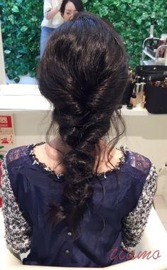 洋装+和装*黒髪でも柔らかアレンジ*リハ編  大人可愛いブライダルヘアメイク『tiamo』の結婚カタログ