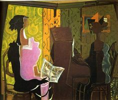 GEORGES BRAQUE The Duet (1937)