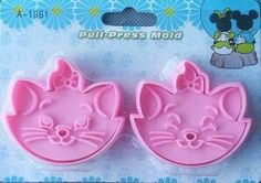 Set of 2 - Marie Cat The Aristocats Cookie Cutters, Fondant Cake Cookie Molds on Etsy, $9.50