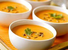 Soupe Carottes Coco Curry Coriandre