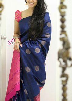 Traditional Sarees, Traditional Outfits, Bridal Silk Saree, Saree Wedding, Silk Sarees, Cutwork Saree, Pattu Saree Blouse Designs, Saree Models, Saree Trends