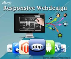 Responsive website designs isn't really as easy as it was before. The continuous development of our era's digital environment is reducing the life expectancy of innovation. With the web moving into more mobile every single day, catching up with new technologies and digital tools to stay up to date with the changing digital landscape is now more important than before.Our function is to create innovative options for companies.  http://webrankservices.com.au/what-we-do/web-designing/