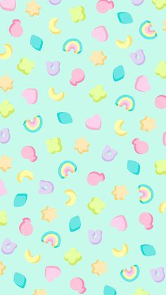 Cereal iPhone wallpapers | by Steph Devino