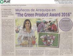 Universidad Católica San Pablo: Amigalitos en competencia internacional en el diario Expreso de Perú (30/06/16)