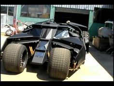 The Bat Tumbler Car technology on History Channel - YouTube