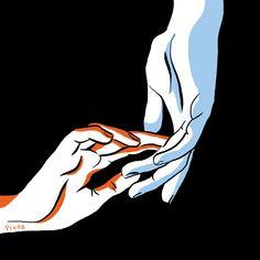 Jeune illustratrice @prune #hands #colors #illustration #drawing #prune