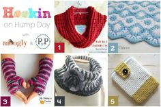 Petals to Picots: Hookin' on Hump Day Link Party for the Fiber Arts Crochet Crafts, Crochet Yarn, Free Crochet, Crochet Headbands, Crochet Afghans, Crochet Blankets, Crotchet, Crochet Clothes, Diy Crafts