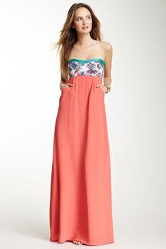 by SMITH Canary Silk Maxi Dress on Hautelook