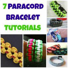 7 paracord bracelet tutorials