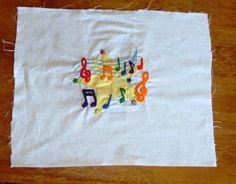 Musical embroidery by Chuckiegirl