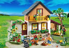 Farm House with Market - PM USA PLAYMOBIL® USA $80