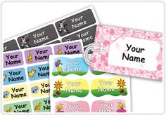 Oliver's Labels make the best waterproof and laundry safe labels for kids. Check them out at www.oliverslabels.com