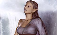 D Drow Elf Female | Female Elf - downloads backgrounds (wallpapers)