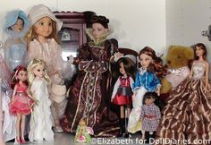 More Doll's from Elizabeth's Collection