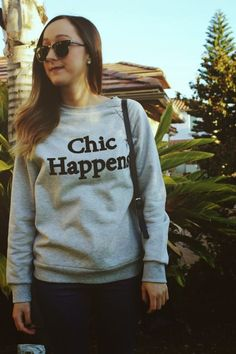 The perf sweatshirt for when chic happens. Get it HERE for only $19.99 during our weeklong Cyber Monday sale!