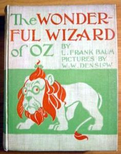 Wonderful Wizard of Oz - Baum  Geo Hill Publisher. Wonderful Wizard of OZ. 1st edition, 1st state. 1st edition / 1st state. 24 color plates. published by Geo. Hill.  2 states/printing in B and C binding. Printed in 1899-1900.