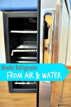 Air & Water: NewAir Beverage Refrigerator (AB-850) review & giveaway - Baby Dickey | Chicago, IL Mom Blogger