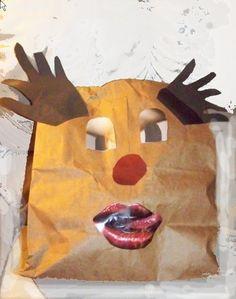 Risque Reindeer Gift Bag