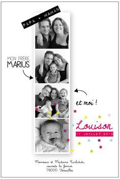 Une série de photos en famille et de votre tout nouveau né pour annoncer son arrivée tant attendue! ° recto seul ° format : 10x15 cm 2 formules son...