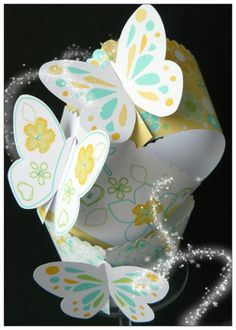 Butterfly fasten wrappers £3.50 for 6
