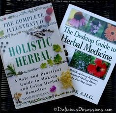 Two Herbal Resources For All Homes (a review and GIVEAWAY!) | deliciousobsessions.com