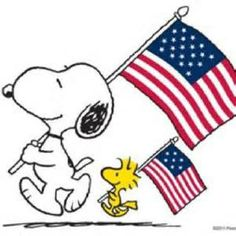 Be proud - snoopy and woodstock