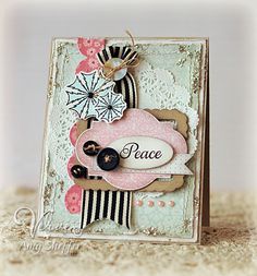 Shabby Chic Card by Amy