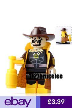 SCARECROW Yellow Lantern Custom Printed /& Inspired Lego DC Minifigure