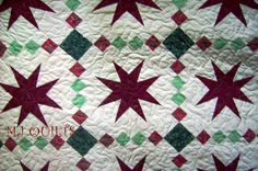 """Eleanor Burns Design  """"Road to Stardom"""" Handmade quilt, Patchwork quilt, King quilt, Bed quilt, Queen quilt, Quilt, Made in USA. MJ Quilts"""