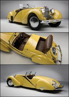 1935 Bugatti Type 57 Grand Raid Roadster