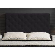 cabecero tapizado base cama doble rombosnegro