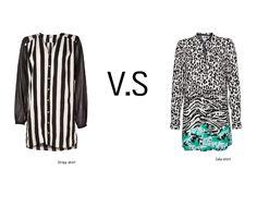 The Black & White trend!  As STRIPES or PRINTS?  #black #white #blackandwhite #stripes #prints #trend #style #look #fashion #clothes #women #girl #dress #silk