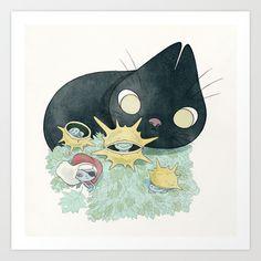 bogue Art Print by Yohan Sacre   - $15.00