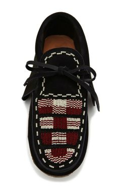 Abelia Beaded Shoe by Isabel Marant for Preorder on Moda Operandi