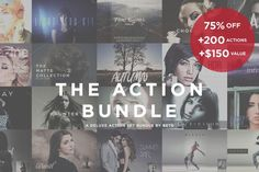 Best The Action Bundle CreativeWork247 - Fonts, Graphics, Themes, Templates...