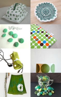 Spots and Dots by Jenny  Campbell on Etsy--Pinned with TreasuryPin.com
