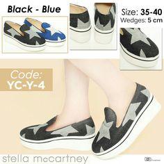 Promo Imlek Sepatu Wedges Stella McCartney YC-Y-4 35-40 250rb Promo sampai  31 Januari 17 35121e404e