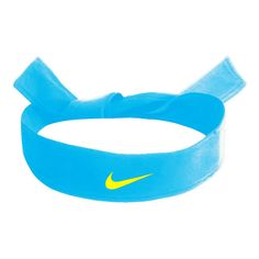 Nike Dri-Fit Head Tie Tennis Apparel Nike buy online at Tennis-Point.com found on Polyvore Nike Dri Fit Headband, Nike Tie Headbands, Athletic Headbands, Sports Headbands, Chill Outfits, Nike Outfits, Nike Wear, Face Wrap, Athletic Gear