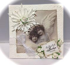 Angels card christmas