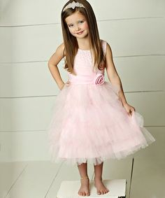 Look what I found on #zulily! Pink Khloee Dress - Infant & Girls #zulilyfinds