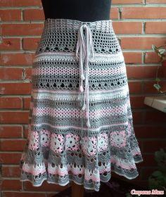 Skirt hook.