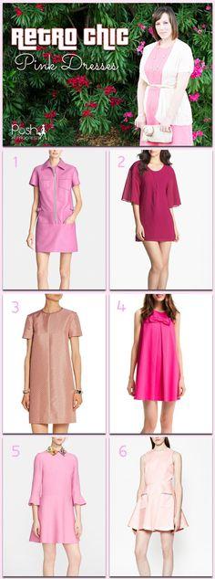 Pink Retro Dresses - Posh in Progress