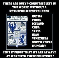 who owns israel rothschild | There are only 9 countries in the world without a Rothschild Central ...