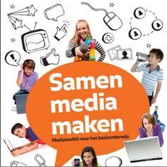 Te downloaden boekje voor groep 3 t/m 8 Samen Media Maken | Mijn Kind Online