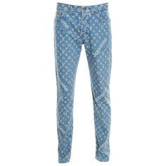 Louis Vuitton X Supreme Monogram Jacquard Denim M Jean, Blue Size 31 Streetwear Brands, Denim Fashion, Fashion Outfits, Street Fashion, Fashion Fashion, Fashion Bags, Runway Fashion, Fashion Trends, Outfits