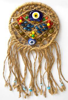 The homeland of the evil eye bead - nazar boncugu - talismans is Anatolia - Turkey.