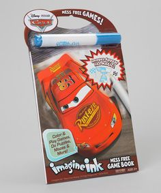 Take a look at this Cars Imagine Ink Mess-Free Activity Book by Disney Pixar Cars on #zulily today!