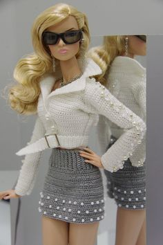 OOAK Fashion Set Outfit Fall'14 for Fashion Royalty Poppy Parker FR2 by Gemini | eBay